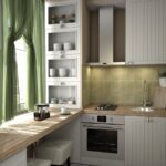 Кухня маленькая хрущевка интерьер