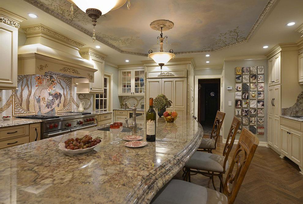 кухня в стиле ар нуро