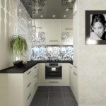 Кухня в хрущёвке дизайн
