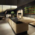 Кухня в современном стиле дерево