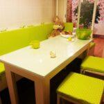 яркие цвета для обеденной зоны