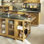 Кухня из дерева лофт