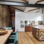 Лофт концепт на кухне