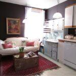 Маленький спальный диван на кухню