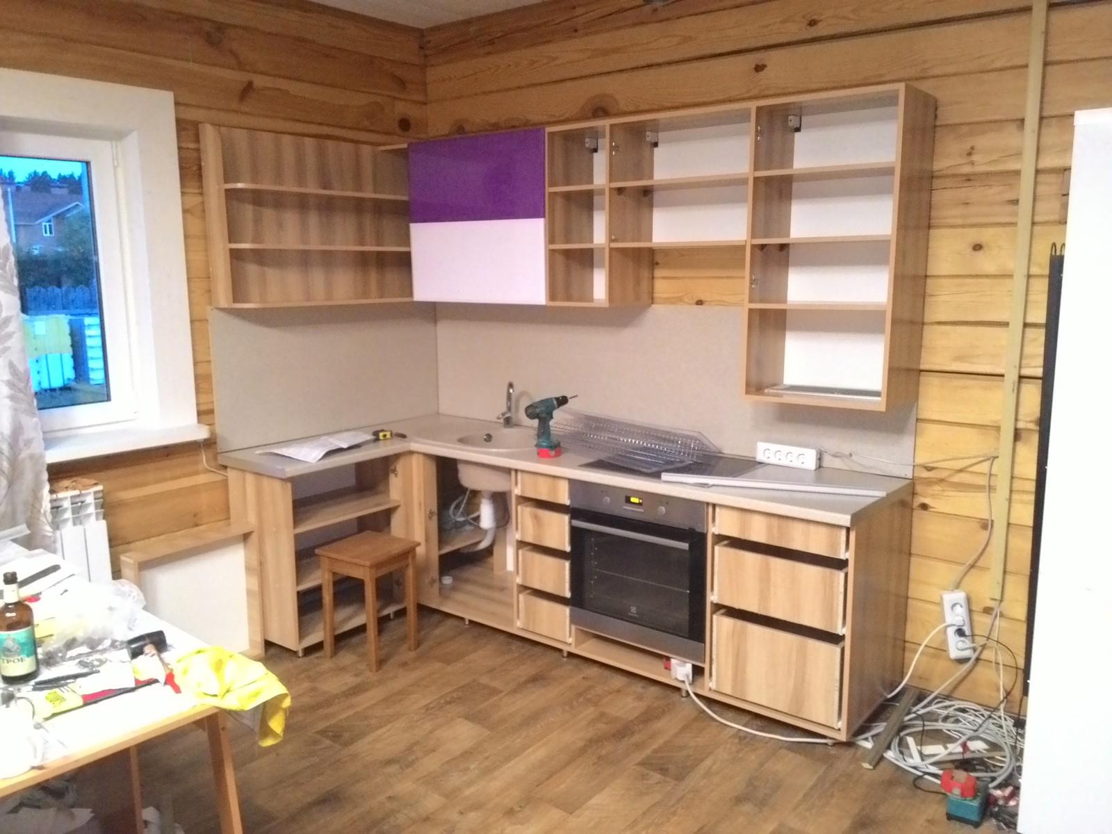 Мебель для дачной кухни своими руками
