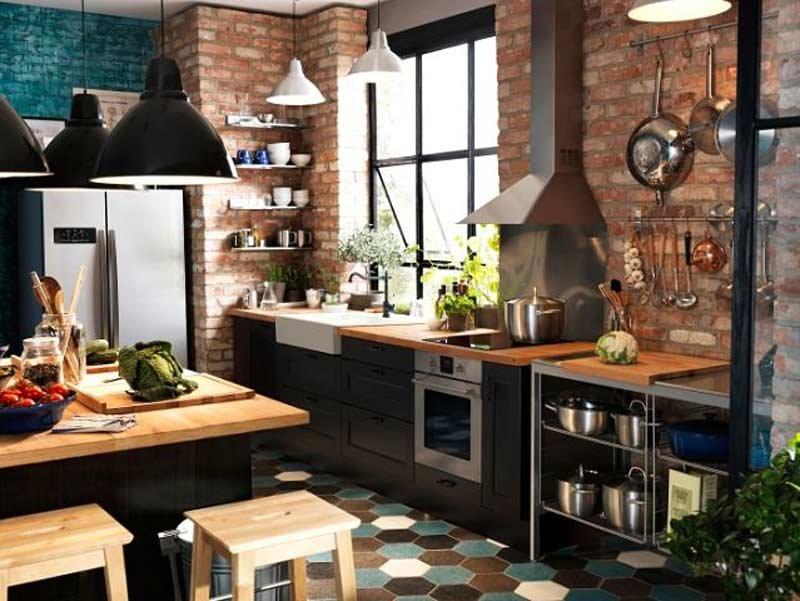 Мебель и декор кухни