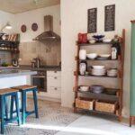 Мини-кухня в скандинавском стиле