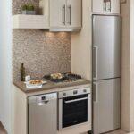 миникухня с встроенным холодильником