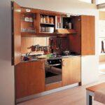 обустройство кухни студии