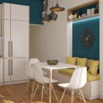 Небольшая кухня дизайн интерьер
