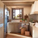 Очень маленькие дачные кухни