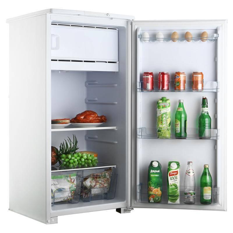 Однокамерный холодильник открытый