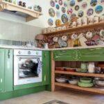Полки на кухню в стиле Кантри