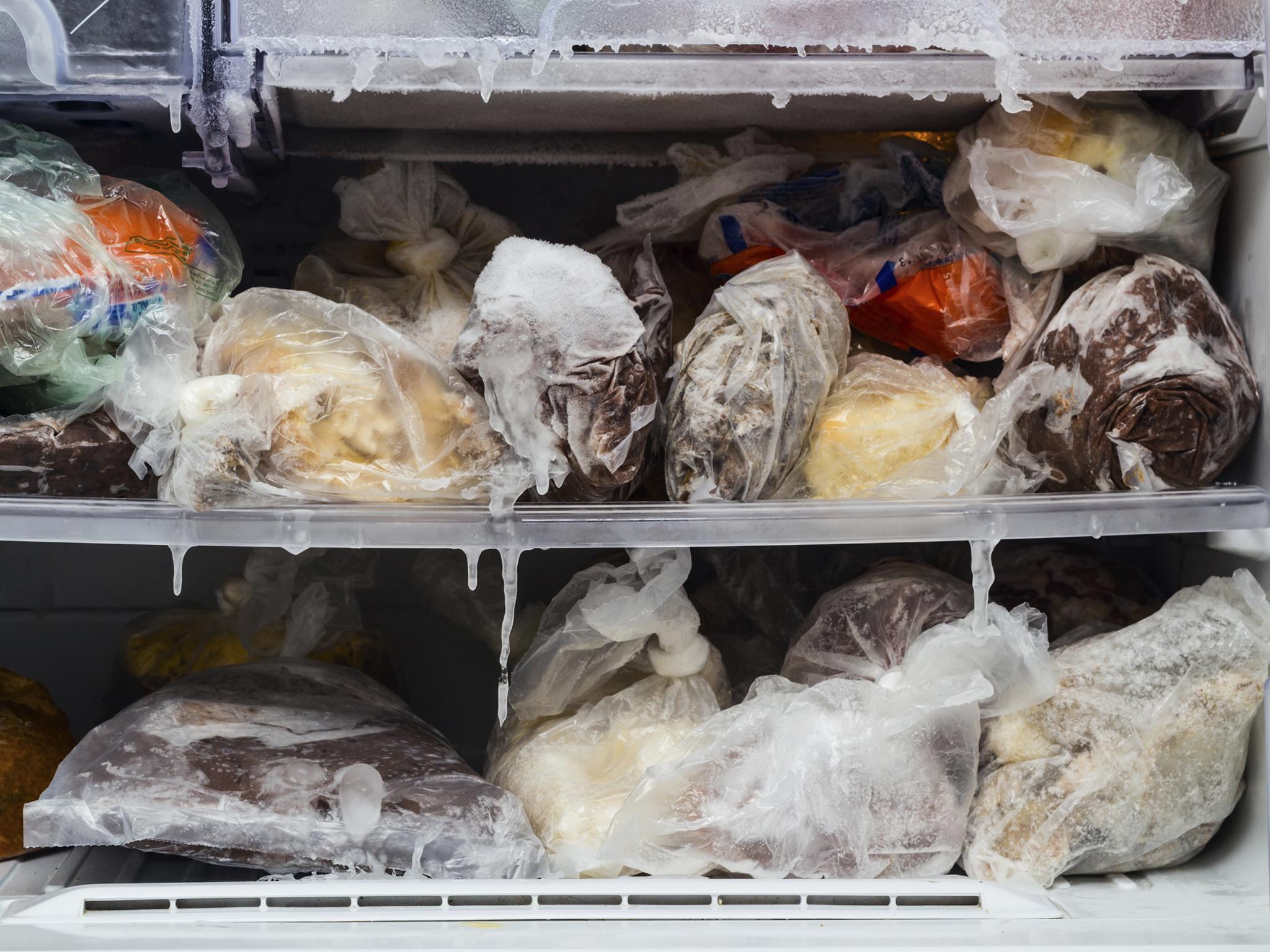 Разморозились продукты в морозилке