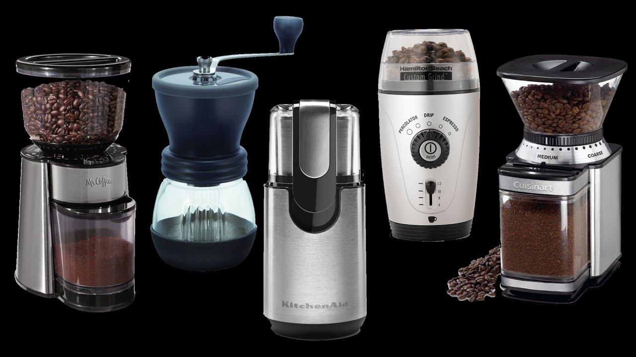 Разновидности кофемолок
