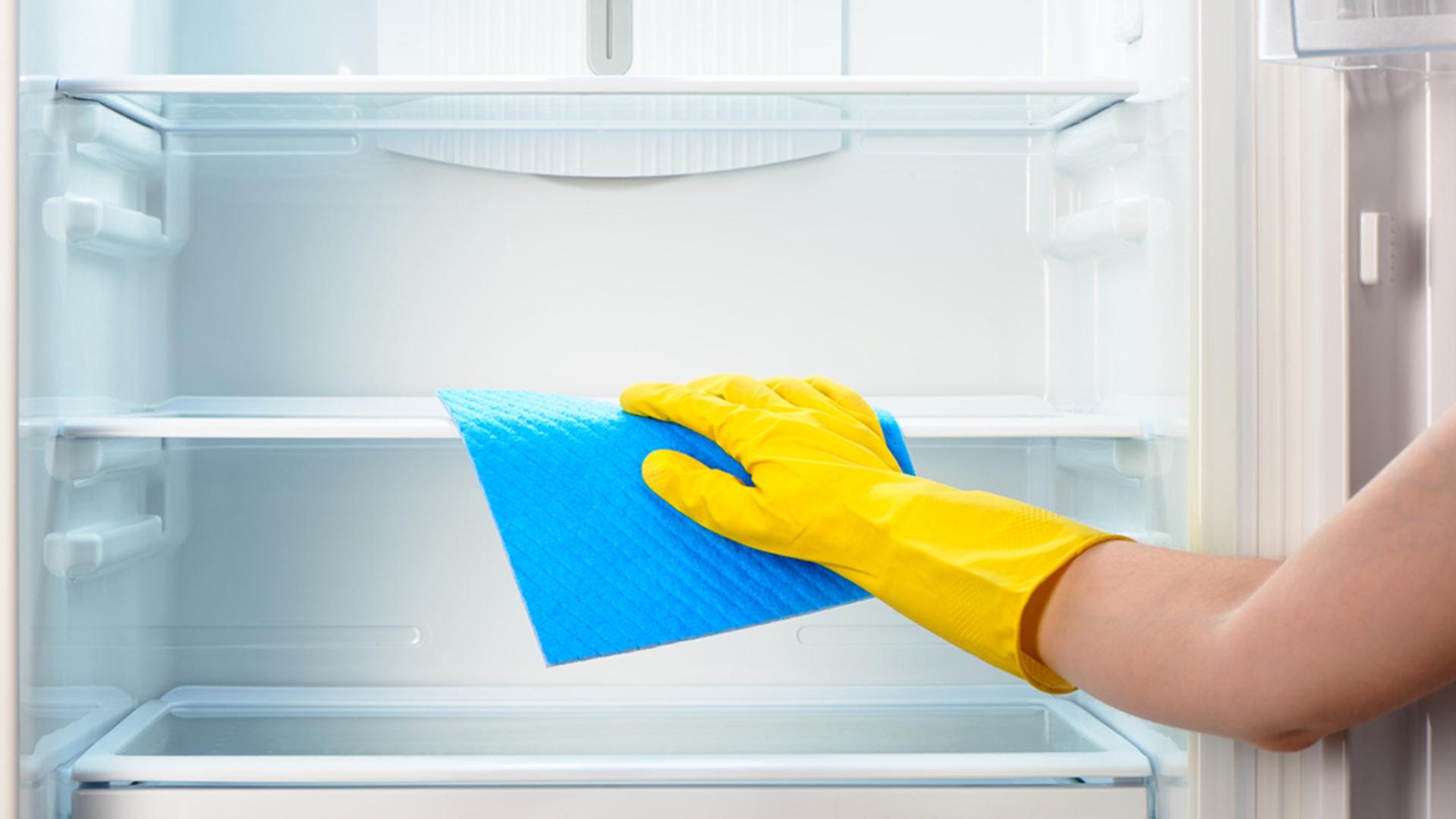 мытье холодильника перекисью водорода