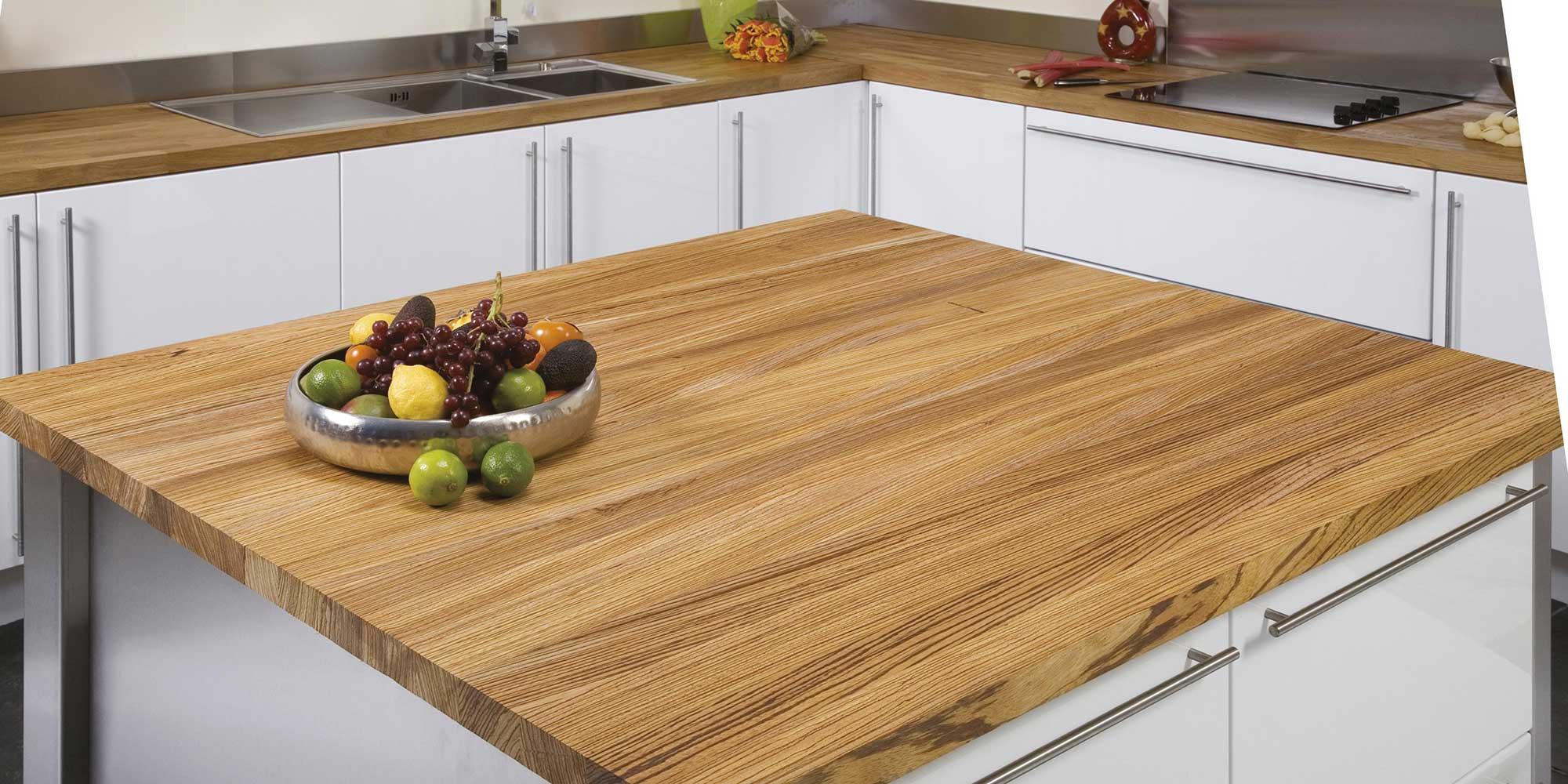 столешницы для кухни из древесной плиты