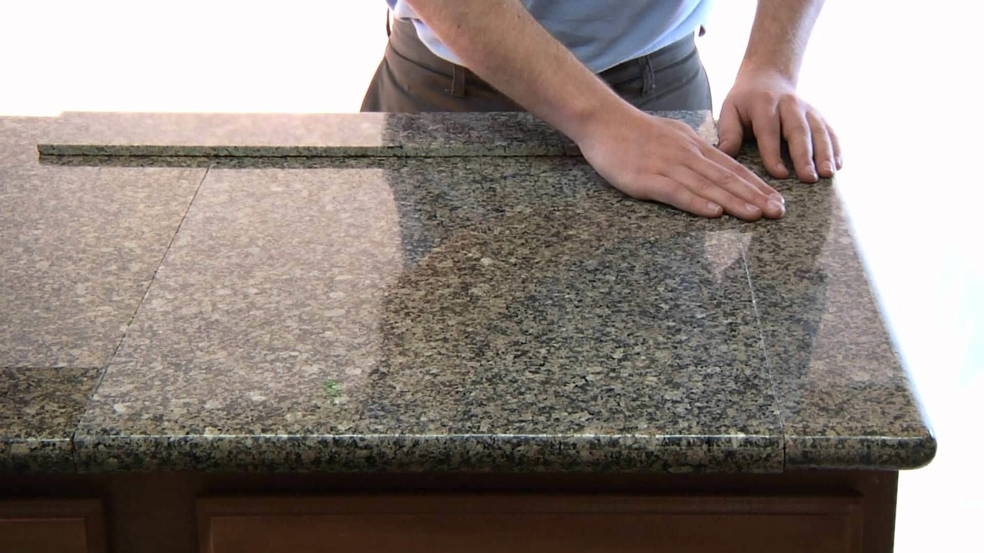 полировка искусственного камня
