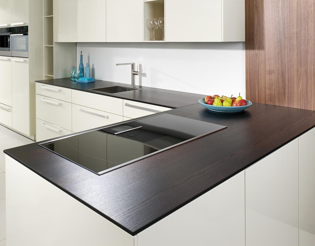 Intelligente Küchenarbeitsplatte