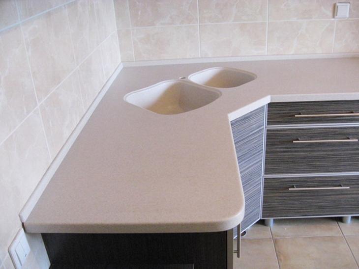 Уголок на столешницу для кухни