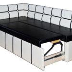 диван со спальным местом на кухне фото оформления