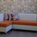 диван со спальным местом на кухне дизайн