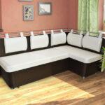 диван со спальным местом на кухне фото дизайна