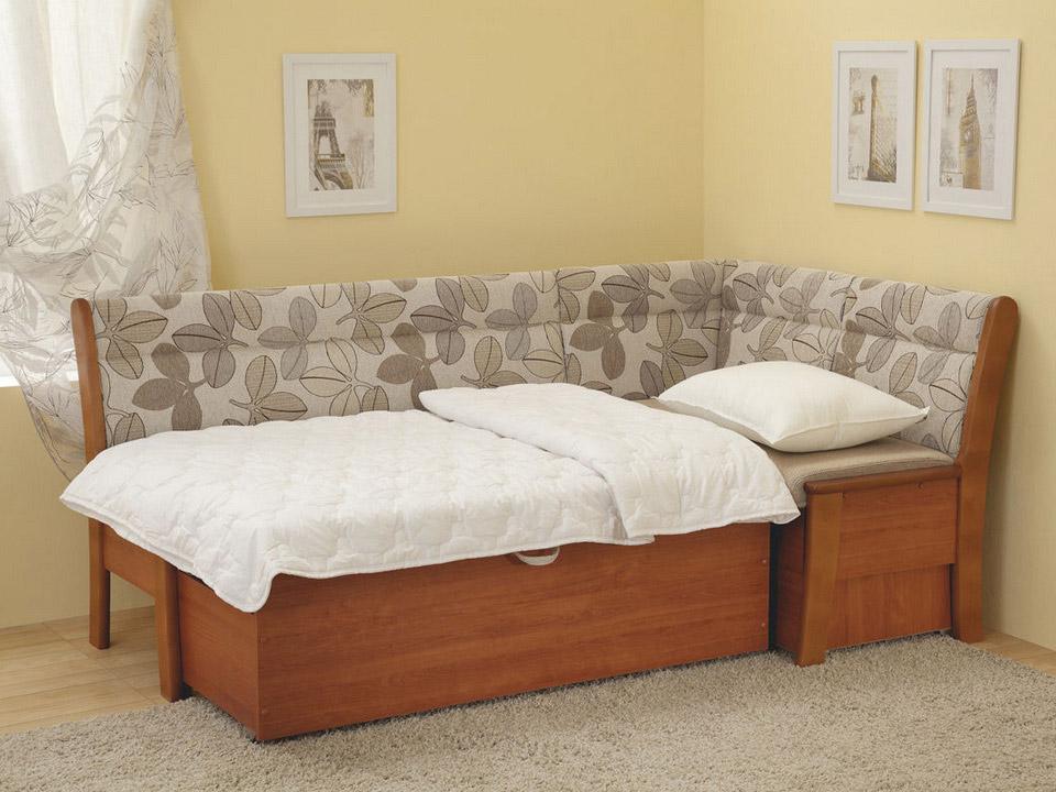 диван со спальным местом на кухню фото