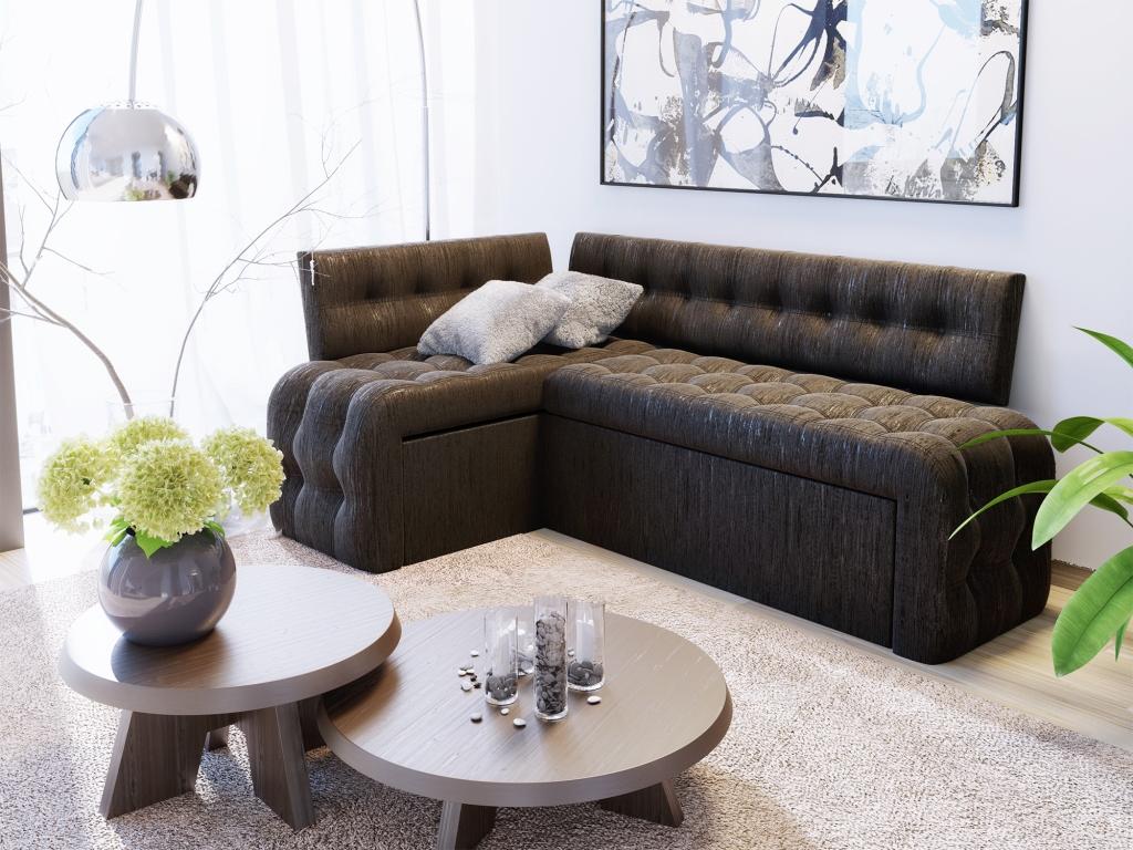 диван со спальным местом на кухню идеи
