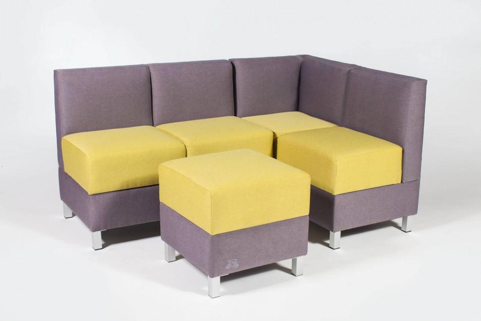 диван со спальным местом на кухню модульный