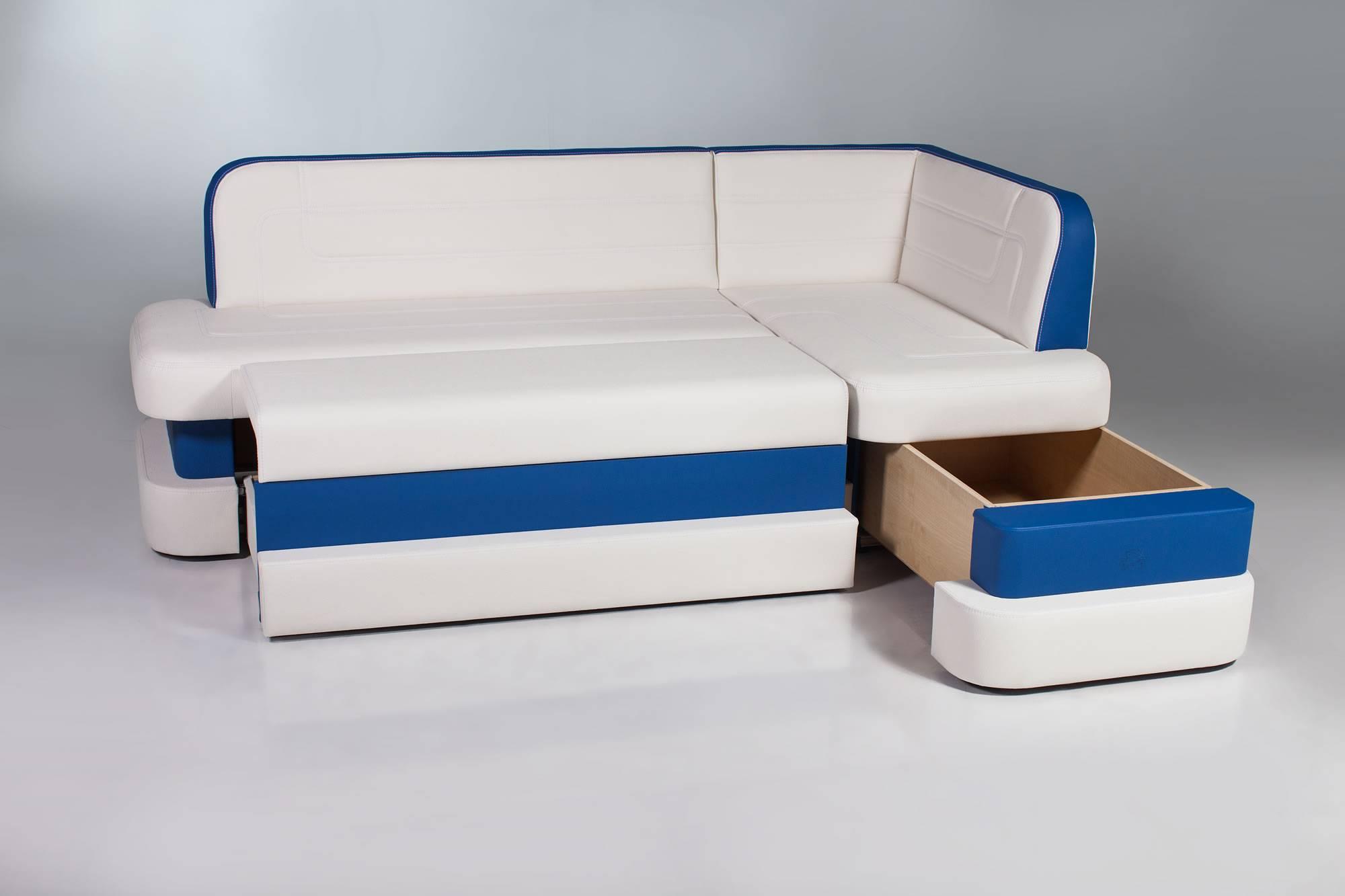 диван со спальным местом на кухню угловой