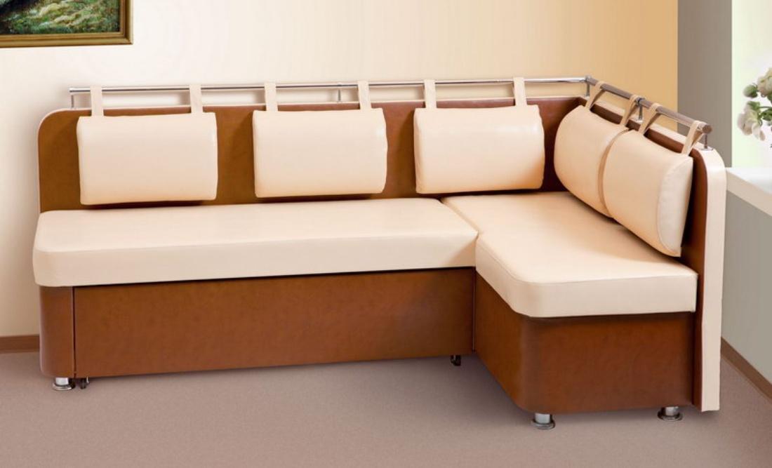 диван со спальным местом на кухню фото интерьера