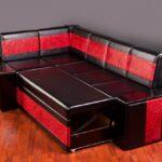 диван со спальным местом на кухню идеи дизайна