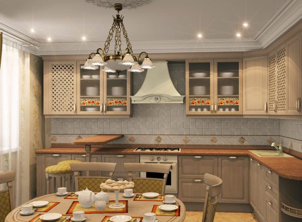 кухня беленый дуб фото декор