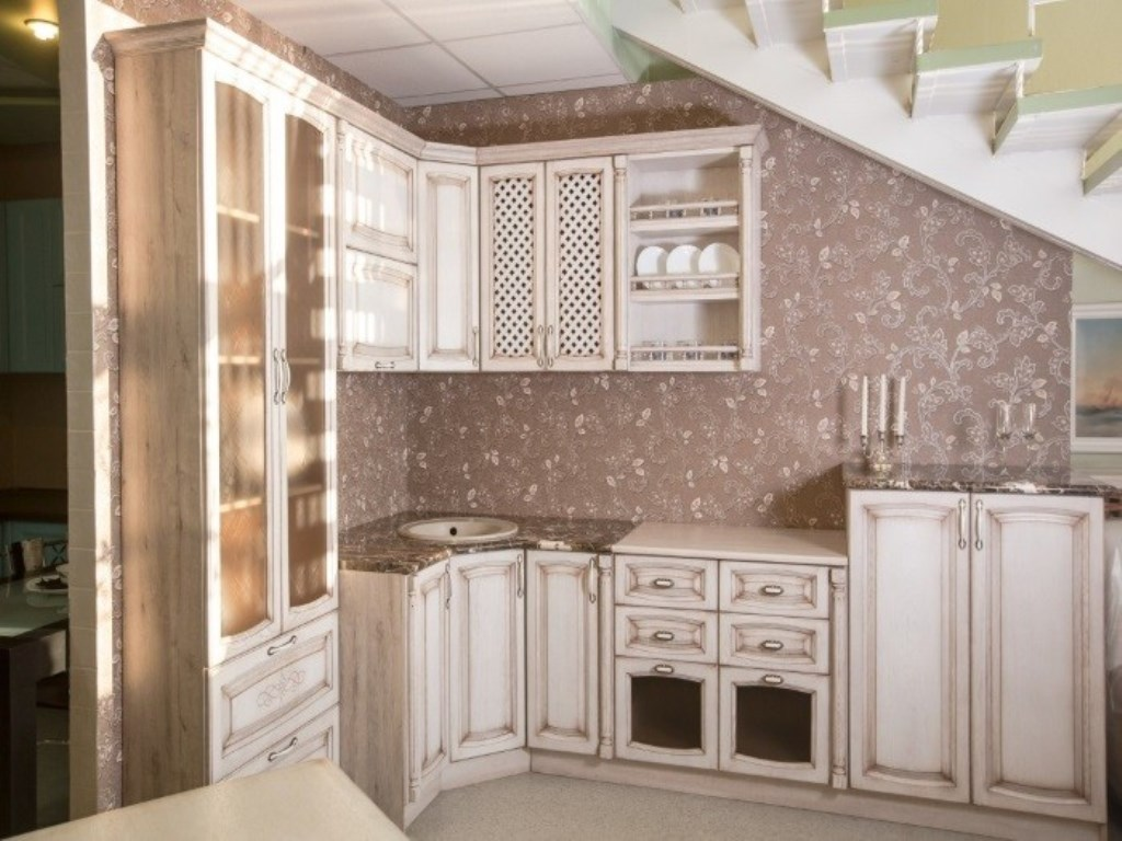 кухня беленый дуб идеи дизайн