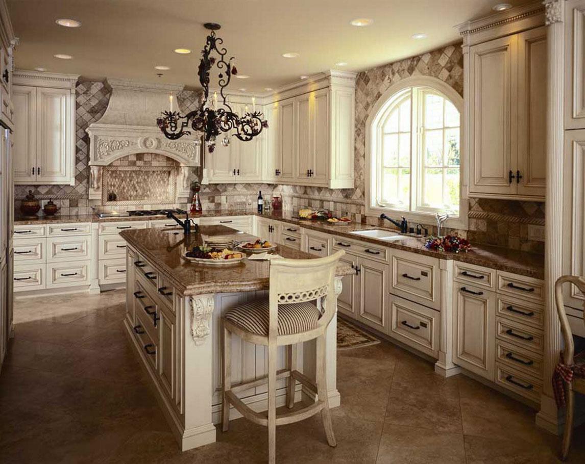 кухня беленый дуб винтаж