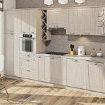 кухня из беленого дуба идеи декора