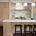 кухня из беленого дуба интерьер фото