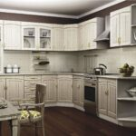 кухня из беленого дуба фото интерьера