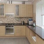 кухня из беленого дуба оформление фото