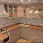 кухня из беленого дуба оформление идеи
