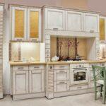 кухня из беленого дуба варианты