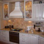 кухня из беленого дуба фото виды