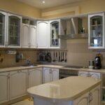 кухня из беленого дуба виды декора