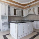 кухня из беленого дуба дизайн