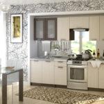 кухня из беленого дуба дизайн фото