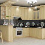 кухня из беленого дуба дизайн идеи