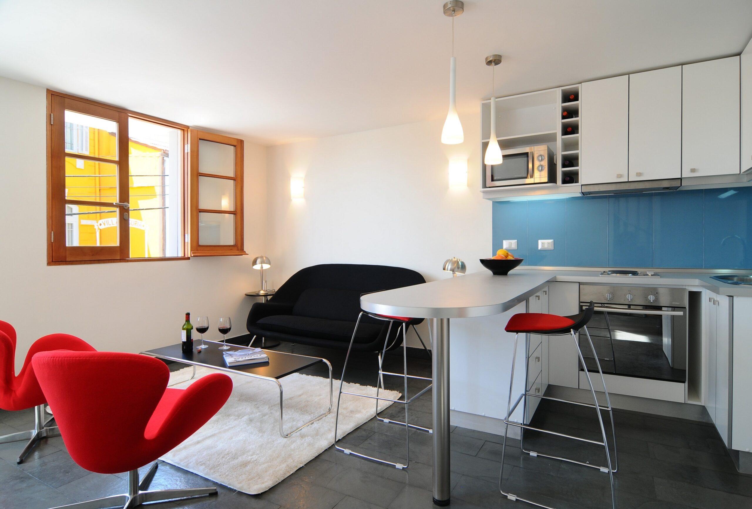 помещение кухни-гостиной