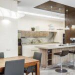 вариант освещения кухни