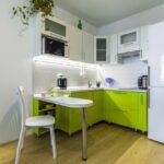 акценты цвета на кухне